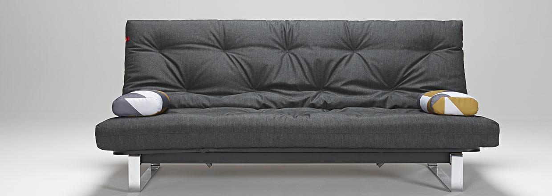 Minimum sovesofa inkl. Spring futon, elevation og magasin