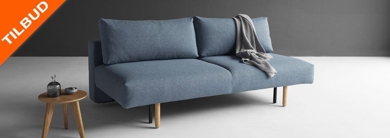 Frode er en 2 pers. Sovesofa, med god sidde og liggekomfort.<br>